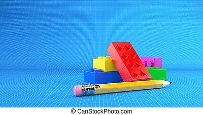 おもちゃのブロック