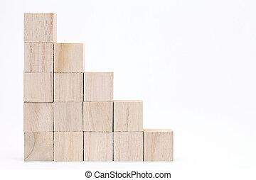 おもちゃのブロック, 木製である