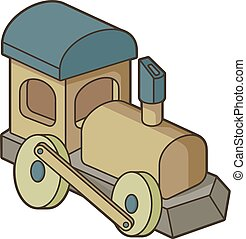 おもちゃの列車
