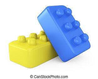 おもちゃの煉瓦