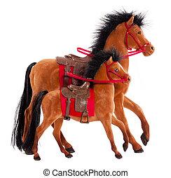 おもちゃの 馬
