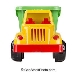 おもちゃ, トラック, ゴミ捨て場