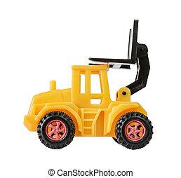 おもちゃ, フォークリフト, 黄色