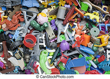 おもちゃ, 古い, 忘れられた, 壊される