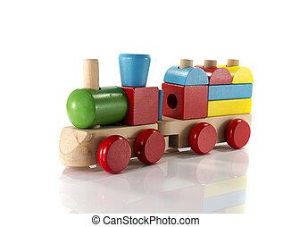 おもちゃ, 木製の列車