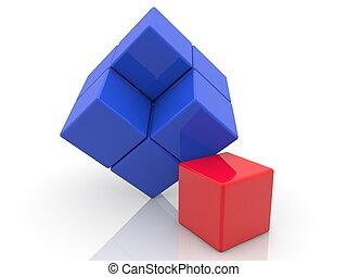 おもちゃ, 概念, 立方体