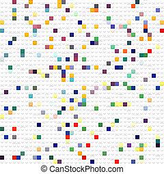おもちゃ, 立方体, パターン