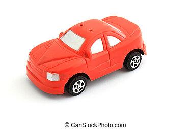 おもちゃ 車, 赤