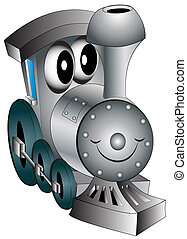 おもちゃ, 陽気, 託児所, 機関車