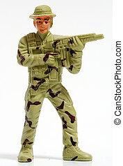 おもちゃ, soldiers.