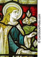 お告げの祝日, メアリー;バージン, 窓