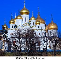 お告げの祝日, 大聖堂, モスクワ
