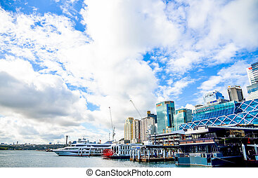 お気に入り, オーストラリア, 港, シドニー