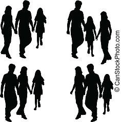 お父さん, 娘, 家族, -, プロフィール, お母さん