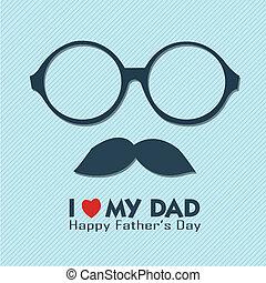 お父さん, 愛, 私