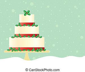 お祝い, ケーキ