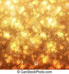 お祝い, 編集, ごちそう, bokeh, 背景, 容易である, 年, 新しい, クリスマス