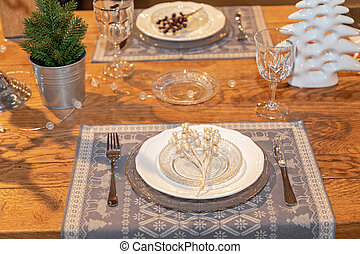 お祝い, 2, テーブル