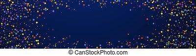 お祝い, stars., colorfu, 祝福, 理想, confetti.