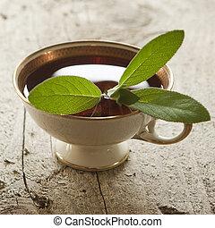 お茶, セージ