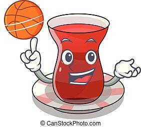 お茶, バスケットボール, 漫画, 形態, trukish