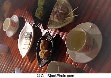 お茶, 中国語