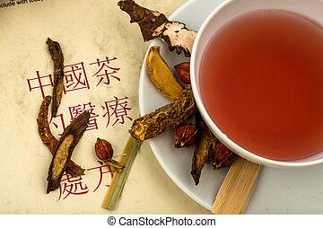 お茶, 中国 薬, ??traditional