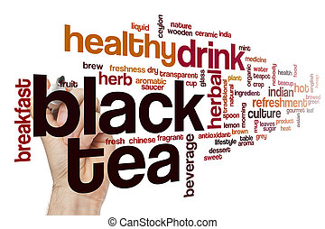 お茶, 単語, 黒い雲