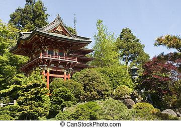 お茶, 日本語, 家