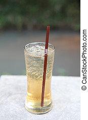 お茶, 氷