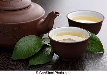 お茶, 緑