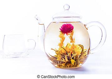 お茶, 花が咲く