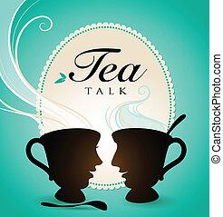 お茶, 話