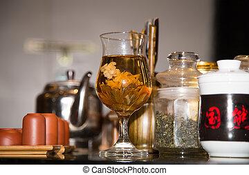お茶, 陶磁器, 店