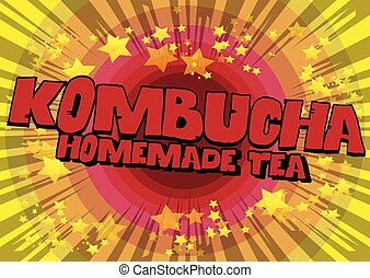 お茶, kombucha, 手製