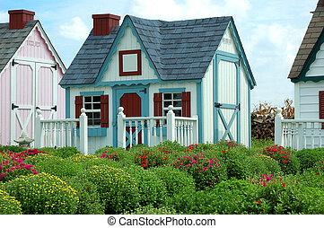お菓子の家, 横列