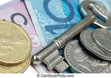 お金, オーストラリア, キー