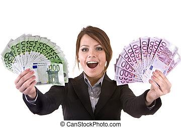 お金。, グループ, 女性実業家
