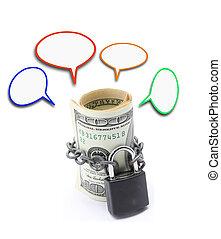お金, セービング, 保険, 概念
