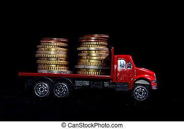 お金, 交通機関