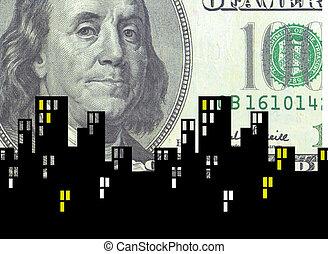 お金, 危機, 都市で