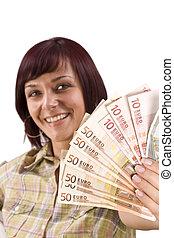 お金, 女性の保有物