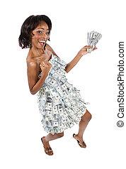 お金, 女
