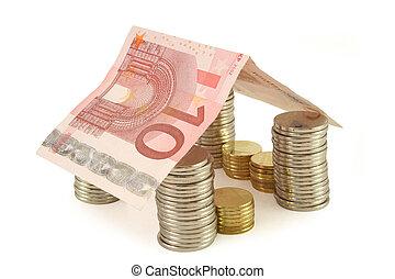 お金, 家, 2