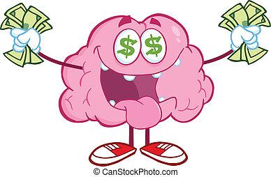 お金, 情事, 特徴, 脳