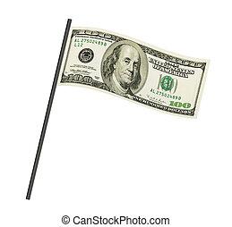 お金, 旗
