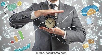 お金, 時間