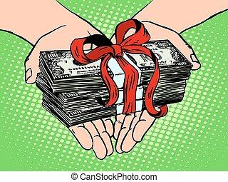 お金, 財政, gift., 収入
