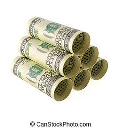 お金, 貯蔵, 山