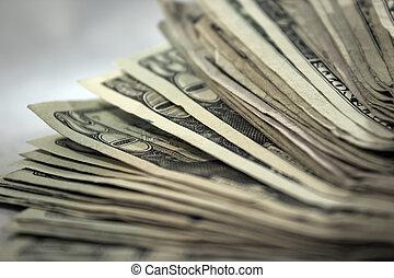 お金, 2, 山, 背景, 私達
